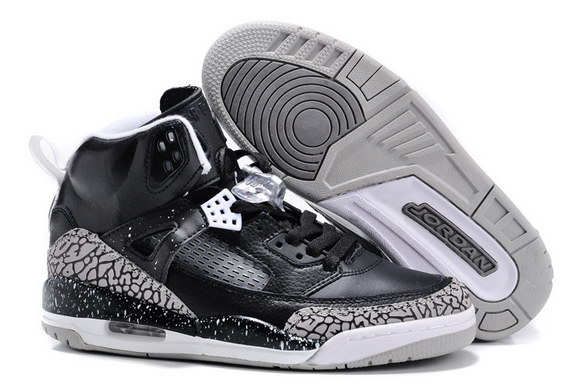 Air Jordan 3.5 Spizike Shoes Black/Gray